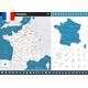 France Infographic Map - Illustration.