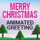 Musical Animated Greeting Card - Merry Christmas