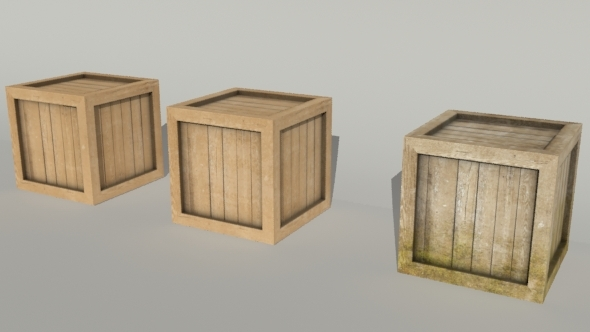 3DOcean Crates collection 1376525