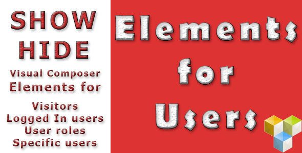 Elements for Users – Addon for Visual Composer