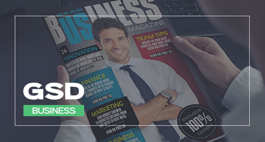 Business Magazine Templates