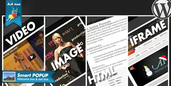 smartPop-Up BOX - Wordpress Plugin - CodeCanyon Item for Sale