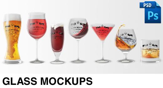 Glass Mockups