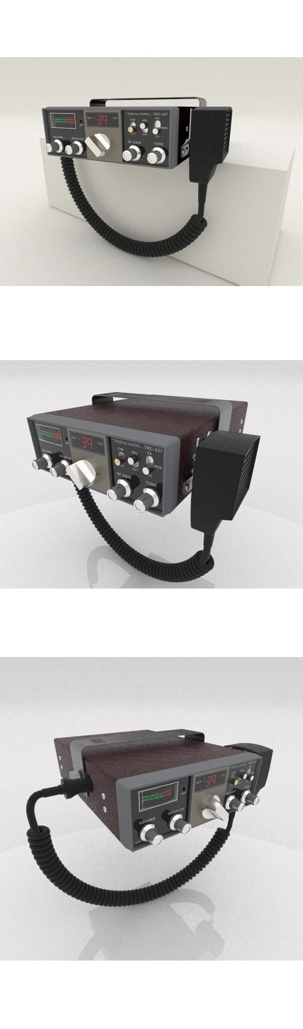 TRC-427 Citizens Band Radio - 3DOcean Item for Sale