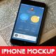 Phone 6 Mockup Vintage Theme