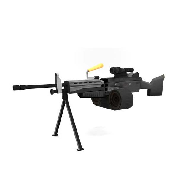 MachineGun - 3DOcean Item for Sale
