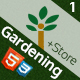 Gardening - Landscaping & Patio Website Template, Responsive HTML CSS