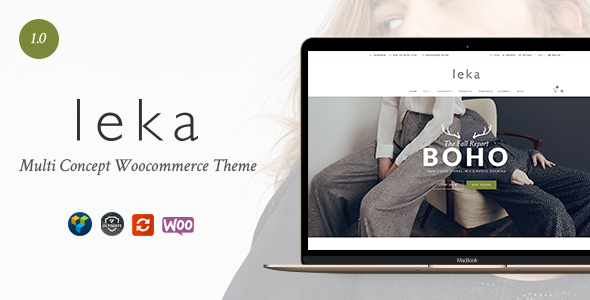 25 - Leka - Amazing WooCommerce Theme