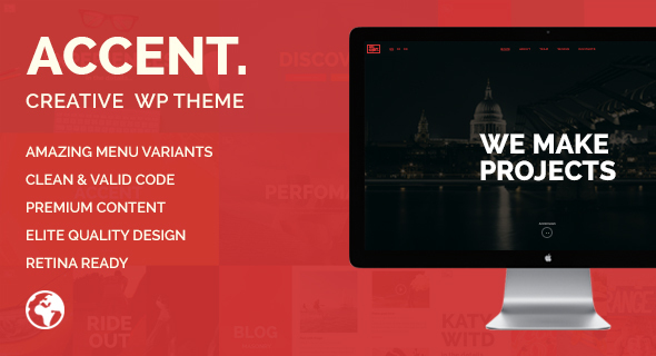 Accent — Creative Responsive WordPress Theme
