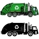 Garbage Trucks And Different Types Of Dumpsters
