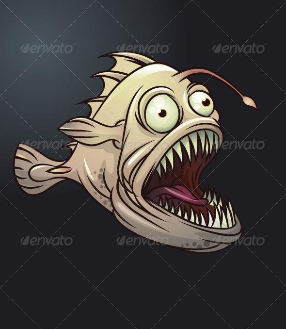 GraphicRiver Deep sea monster 164606