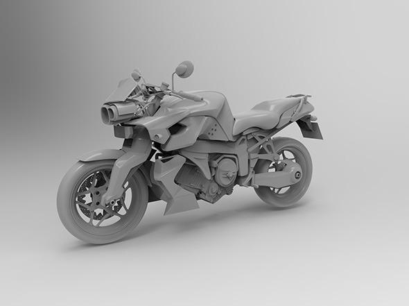 BMW K1300R - 3DOcean Item for Sale