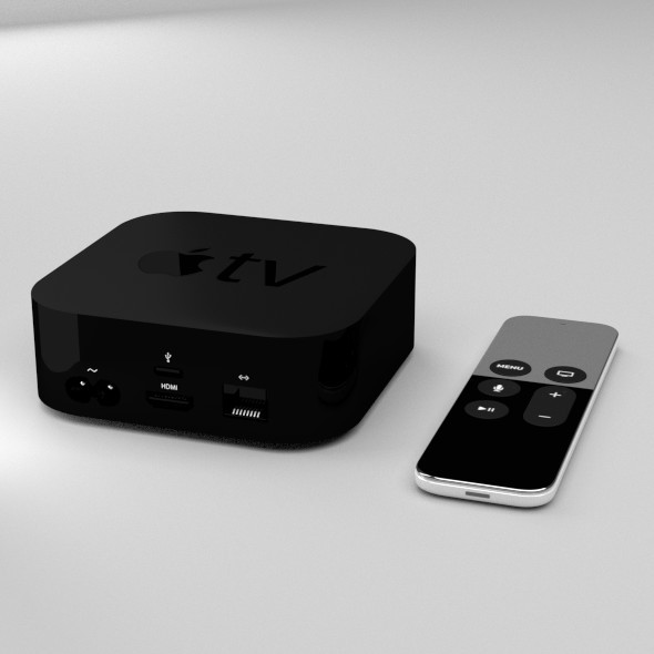 Apple TV - 3DOcean Item for Sale