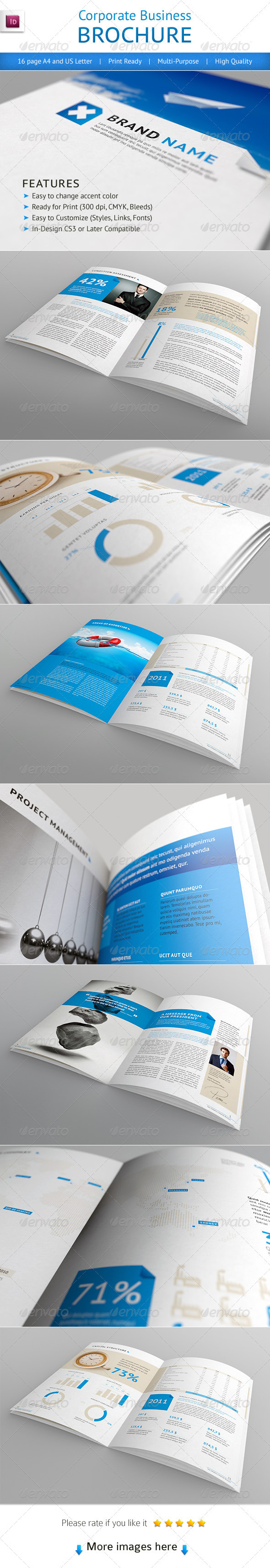 GraphicRiver Professional Corporate Business Brochure 1378708