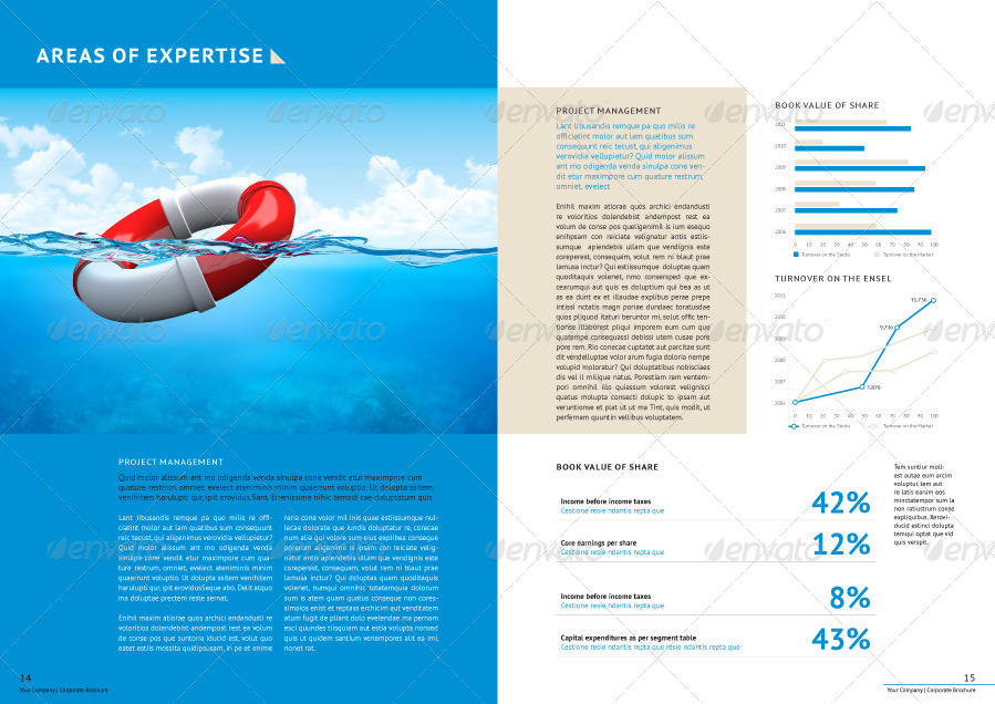 Professional Corporate Business Brochure by Genetic96 – Professional Corporate Flyer