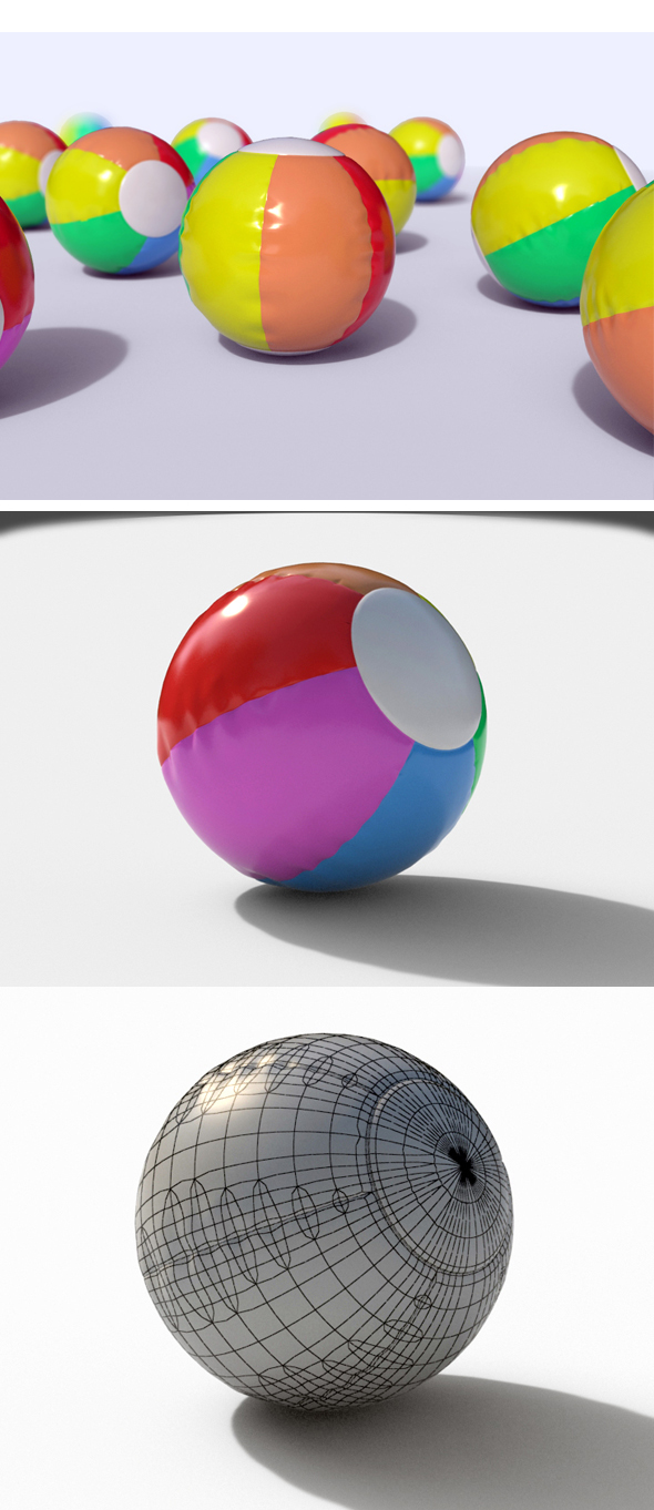 3DOcean Beach Ball 13789509