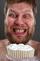 Ugly brushing teeth