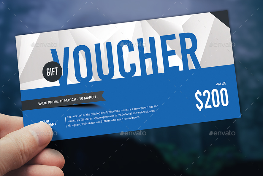 Free download graphicriver Gift voucher