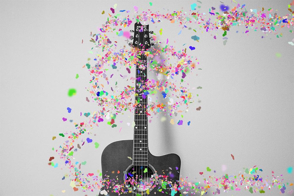 Confetti Photoshop Actions by Delimiter | GraphicRiver