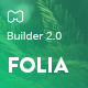 Folia - Modern Email Template + Builder 2.0