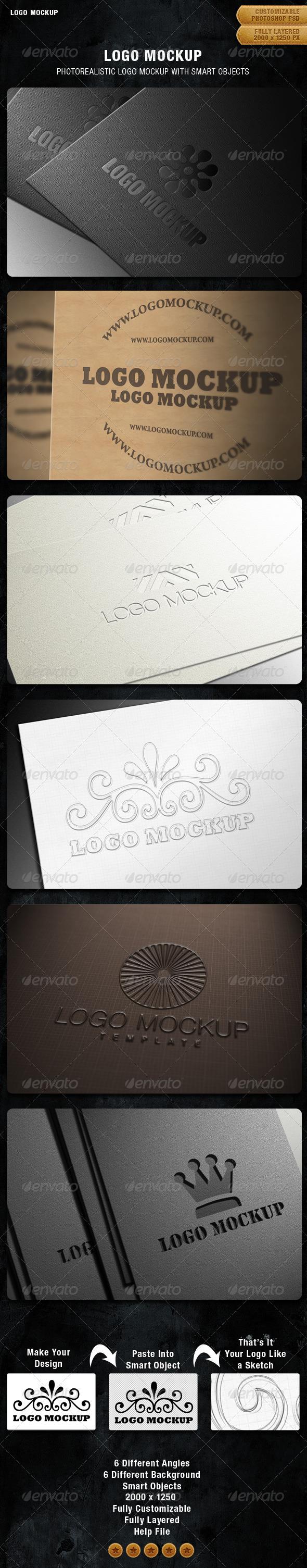 GraphicRiver Logo Mockup 1335692