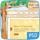 Kids Corner Creative - Hand painted PSD