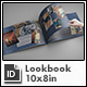 Fashion Lookbook Template - 10x8in