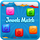 Jewels Match - HTML5 Game + Android + AdMob (Capx)