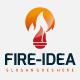 Fire Idea Logo