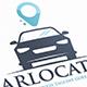 Car Locate Logo Template
