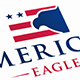 American Eagle Flag Logo Template
