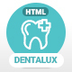 Dentalux | Dentist & Healthcare Site Template