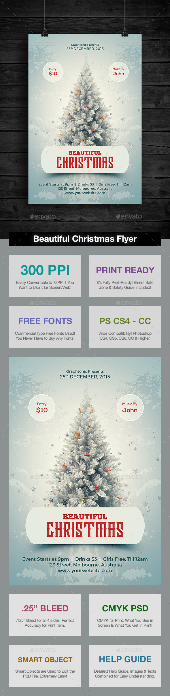Beautiful Christmas Flyer