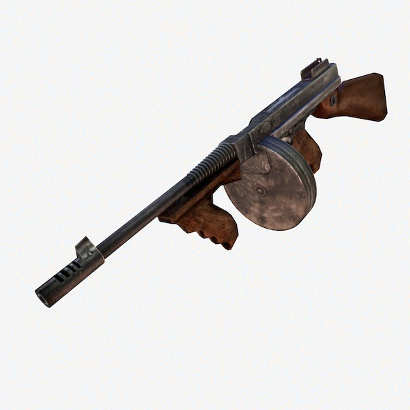Thompson M1921 - 3DOcean Item for Sale