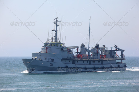 Fire fighting ship