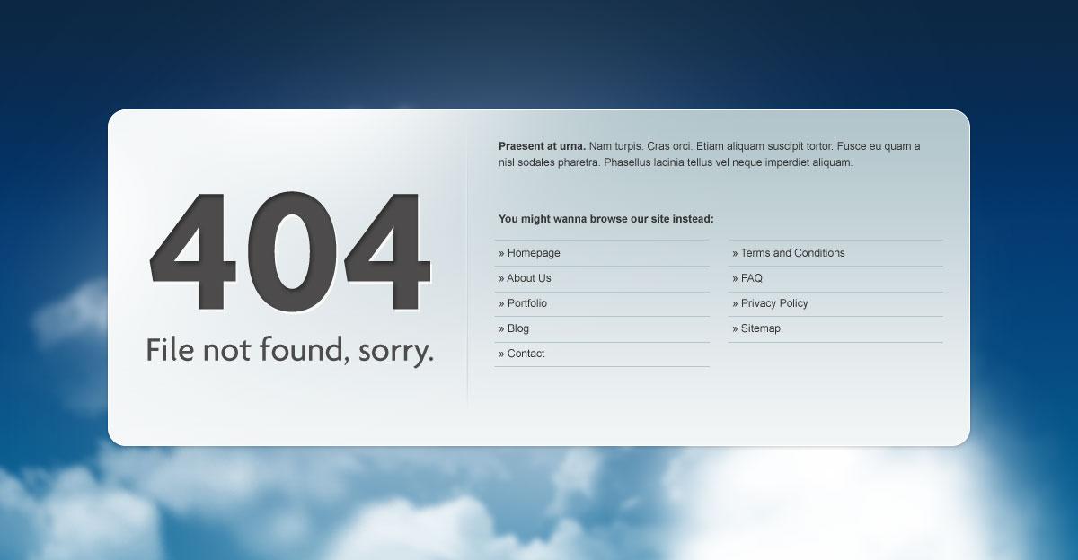 404 Idea Style