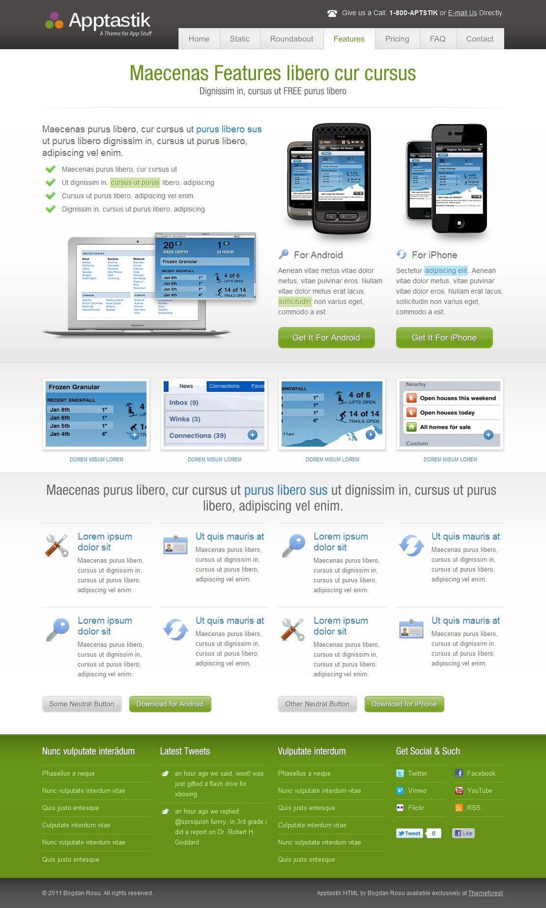Apptastik HTML