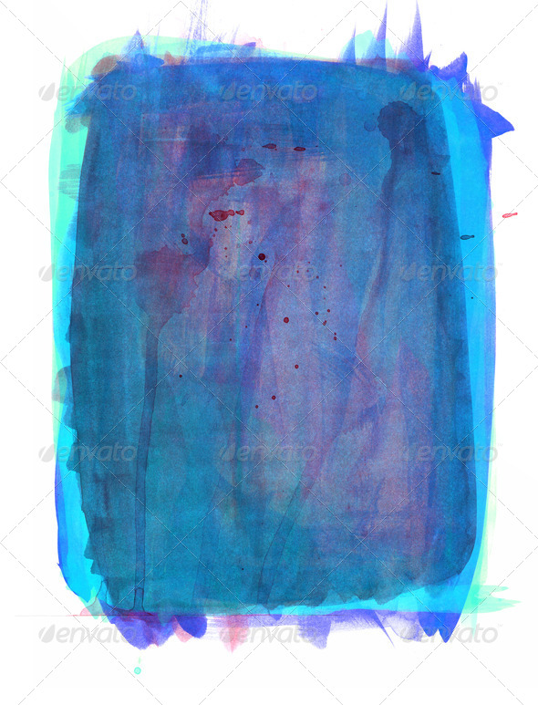 Watercolor background - Stock Photo - Images