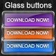 Elegant glass buttons - GraphicRiver Item for Sale
