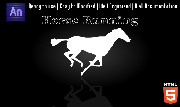 Horse Running Animation - CodeCanyon Item for Sale