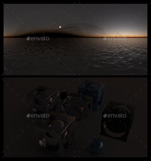 Ocean Night - HDRI - 3DOcean Item for Sale