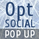 OptSocial - Social Opt-In Pop-Up