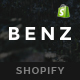 Benz - Responsive Shopify Theme - ThemeForest Item for Sale