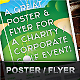 Golf Event Poster / Flyer for Corp / Social use - GraphicRiver Item for Sale