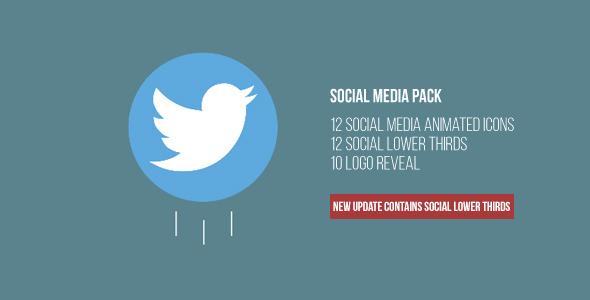 Social Media Pack & Logo Stings