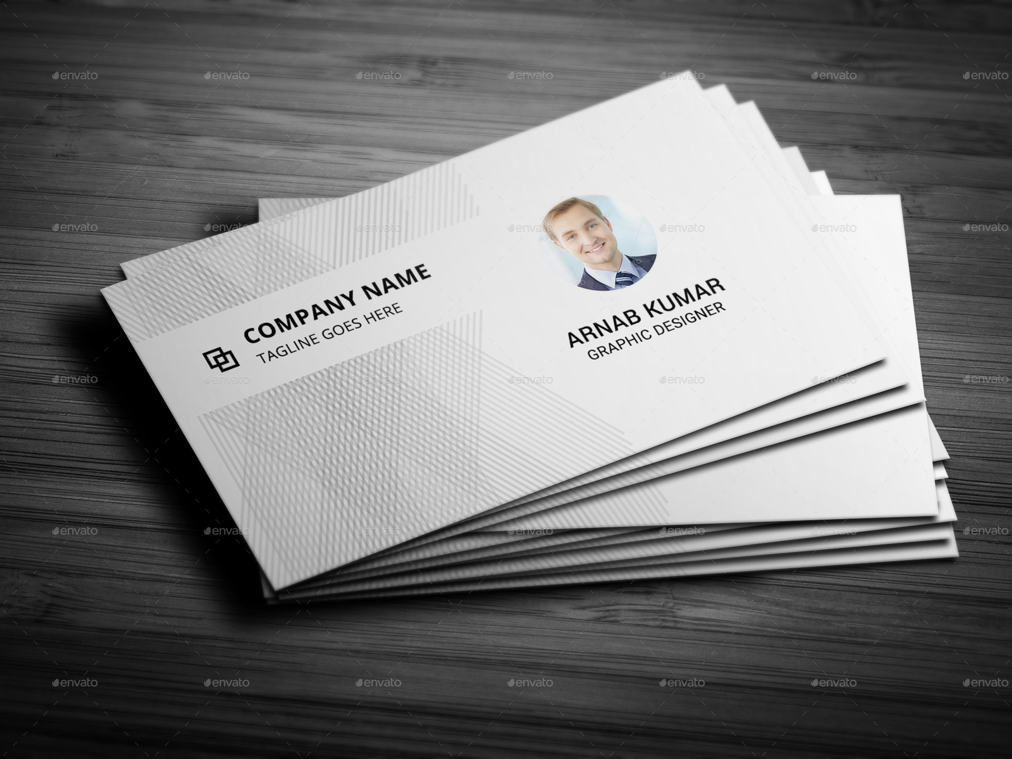 Minimalist Style Business Card