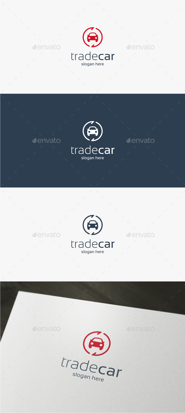 Trade Car – Logo Template