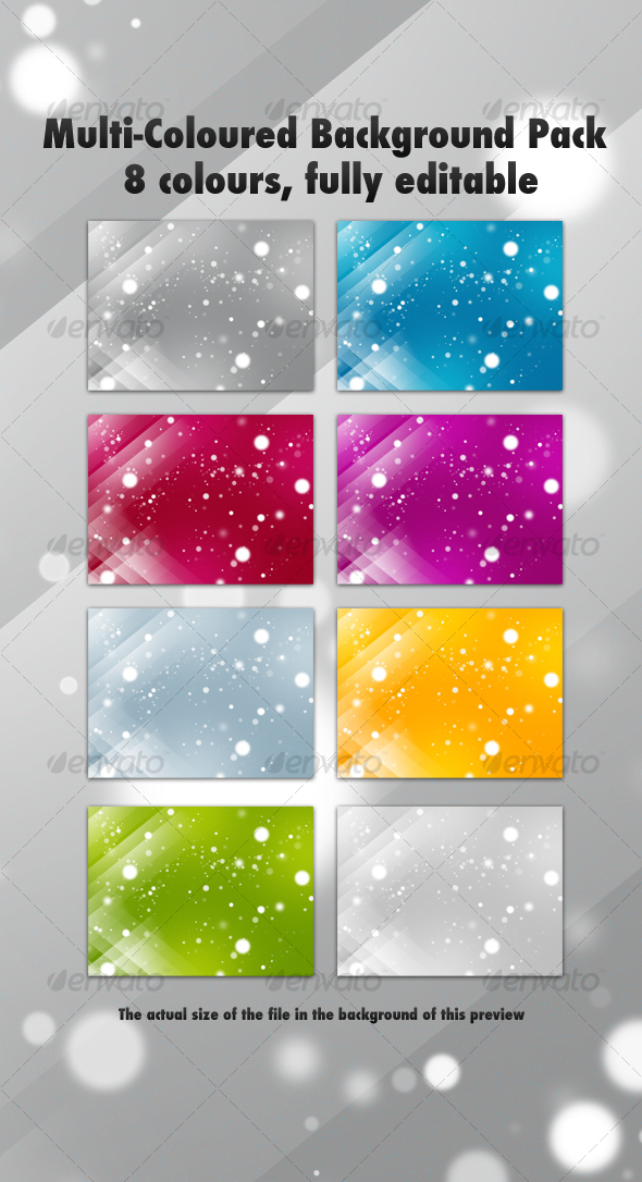 GraphicRiver Multi-Coloured Background Pack 54821