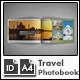 Travel Photo Album Template g2 - A4 Landscape