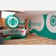 Car Showroom Branding Mock up